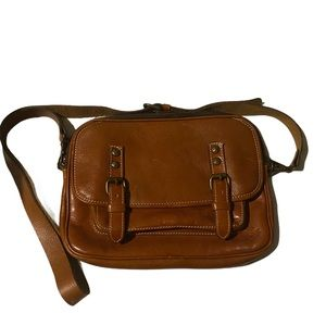 Patricia Nash Leather Crossbody Messenger Bag
